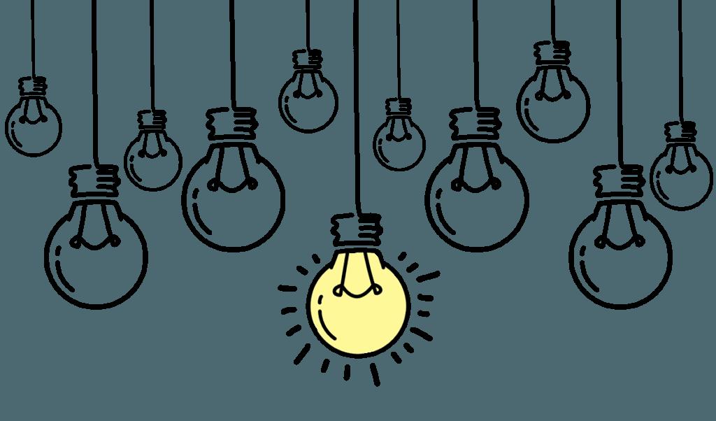 Ampoules idée