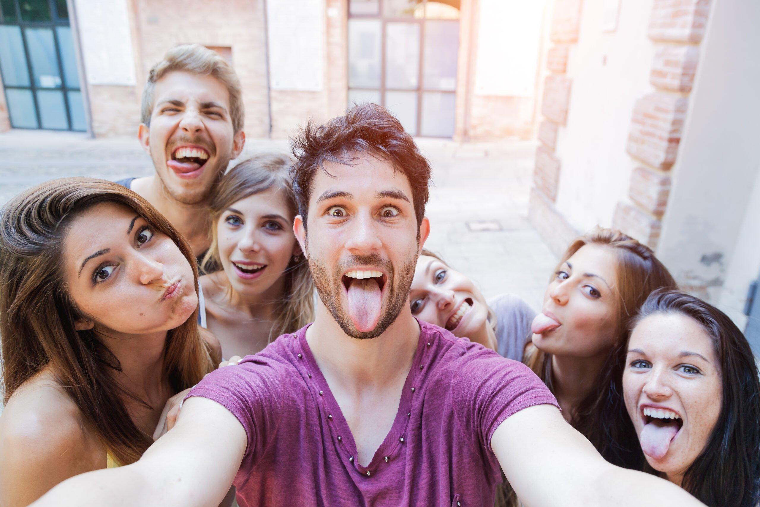 Adolescents en Colonies de Vacances
